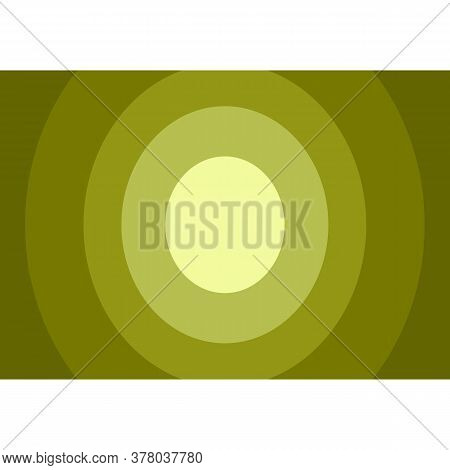 Background. Dark Green Circle Background Modern Texture Background, Elegant Color Gradation Or Websi