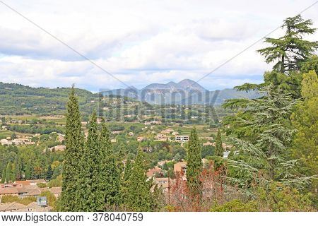 Town Of Vaison La Romaine In Provence France