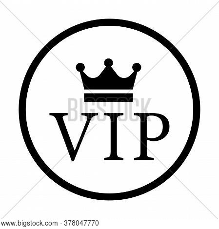 Vip Icon Isolated On White Background. Vip Vector Sign.