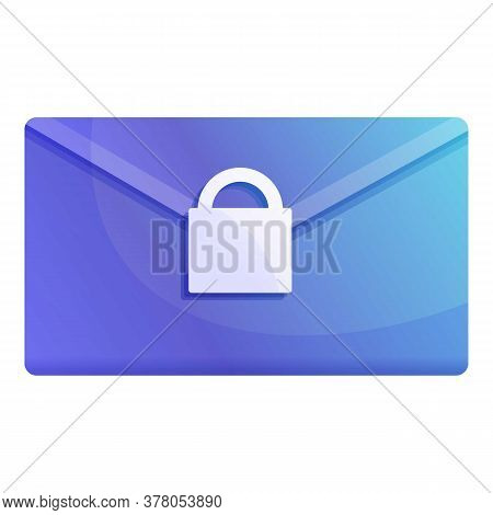 Mail Personal Information Icon. Cartoon Of Mail Personal Information Vector Icon For Web Design Isol