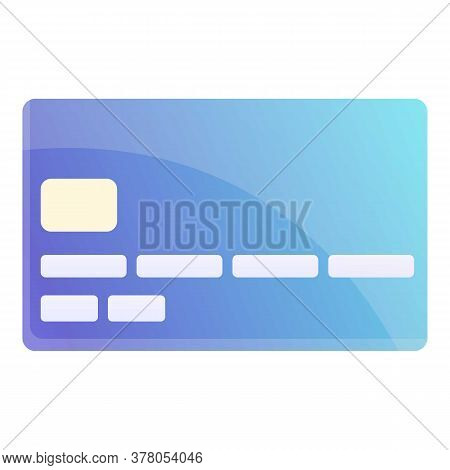 Bank Card Personal Icon. Cartoon Of Bank Card Personal Vector Icon For Web Design Isolated On White