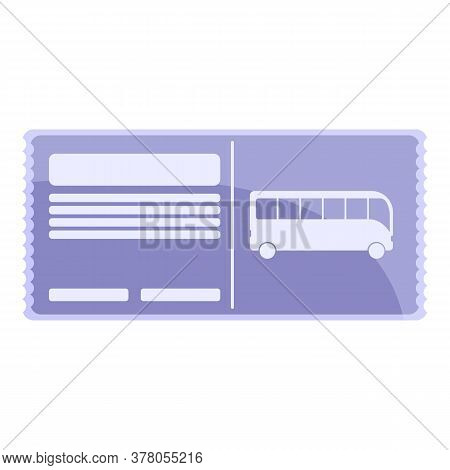 Bus Ticket Validator Icon. Cartoon Of Bus Ticket Validator Vector Icon For Web Design Isolated On Wh