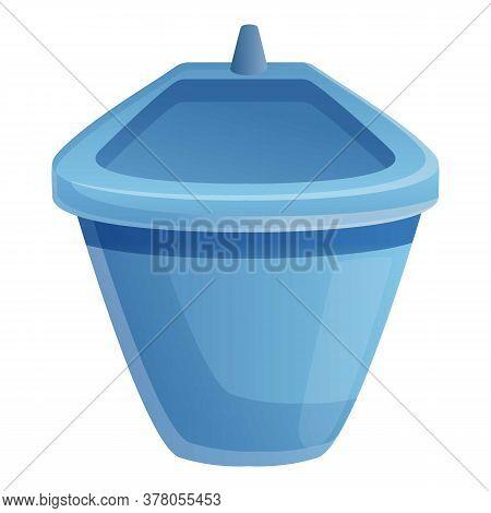 Bathroom Bidet Icon. Cartoon Of Bathroom Bidet Vector Icon For Web Design Isolated On White Backgrou