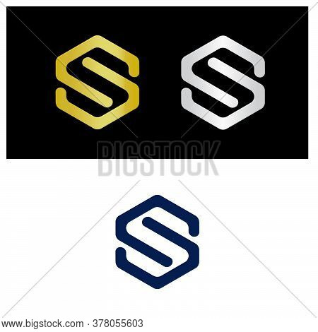 Letter S Logo, Abstract Letter S Logo, Rounded Corners Letter S, S Logo