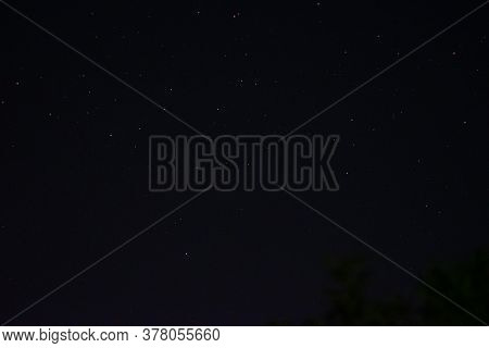 Space Background On The Desktop, Screensaver. Night Starry Sky Of The Northern Hemisphere. Various C
