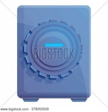 Storage Documents Safe Icon. Cartoon Of Storage Documents Safe Vector Icon For Web Design Isolated O