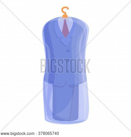 Clean Laundry Suit Icon. Cartoon Of Clean Laundry Suit Vector Icon For Web Design Isolated On White