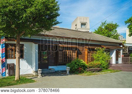 July 24, 2020: Lukang Artist Village, An Art Center In Changhua, Taiwan. It Was The Working Area For