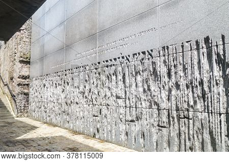 Belzec, Poland - June 12, 2020: The Ohel Of The Belzec Mausoleum In  Former Nazi German Exterminatio