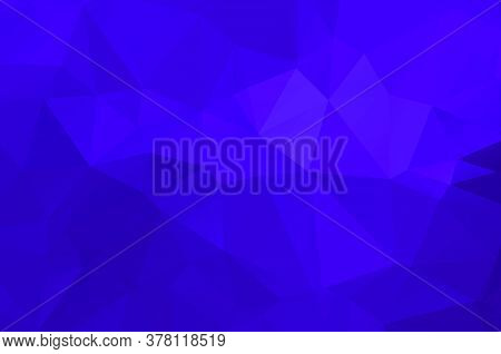 Purple Vivid Polygonal Abstract Background