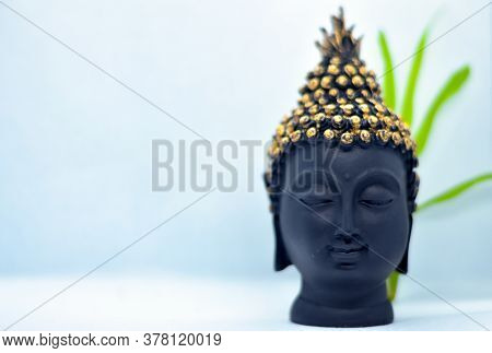 Buddha Head Figurine Statue Is Not Just The Depiction Of The Head Of The Buddha And Symbolic As Well