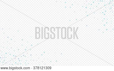 Colorful Confetti Christmas Transparent Background. Colored Celebrate Splash Texture. Top Design. Gr
