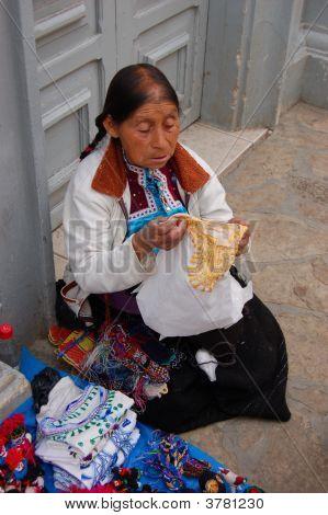 Old Mayan Woman