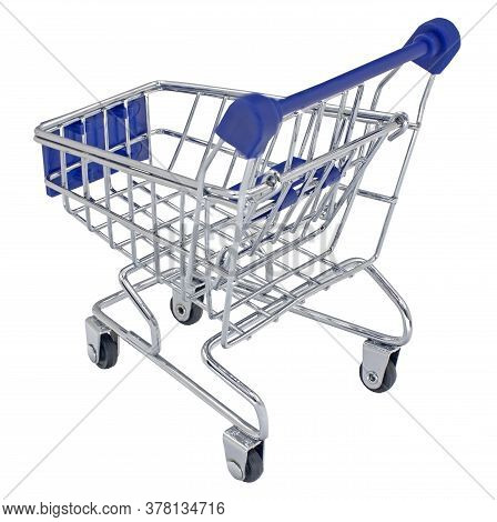 The Shopping Cart Isolated On White Background