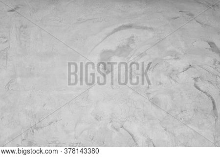 Abstract Grunge And Scratched Grey Concrete  Wall Texture Background. Loft Style Vintage And Retro B