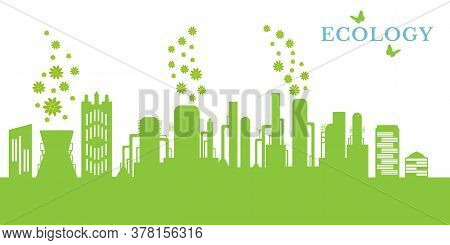 Environmentally Friendly Production Without Harmful Emissions Into The Environment. Concept Of Envir