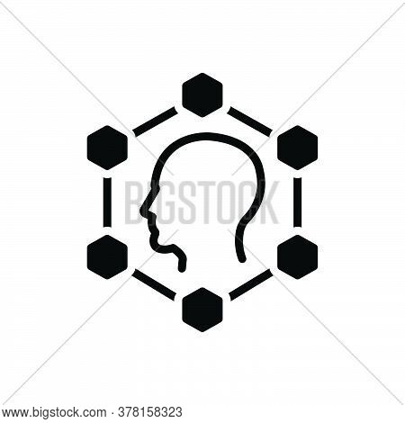 Black Solid Icon For Planning Smart-ideas Creative Innovation Invention Inspiration Inventiveness Br