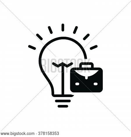Black Solid Icon For Trading-idea Trading Idea Trading-concept Solution Conceptual Strategy Concepts