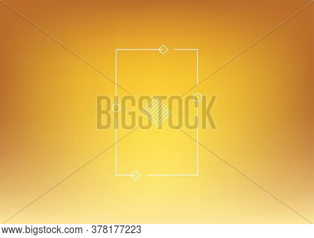 Golden Violet Gradient Background. Abstract Bright Color Background. Ui Ux Trendy Web Vector Backdro