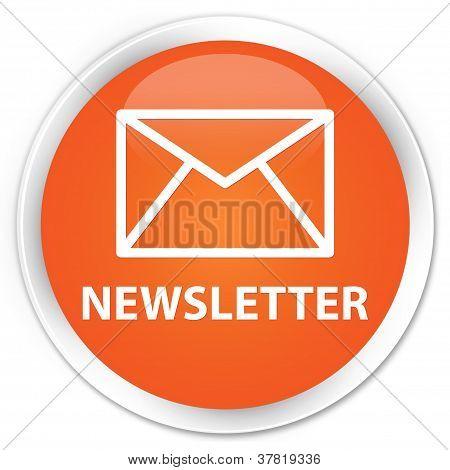 Newsletter Orange Button