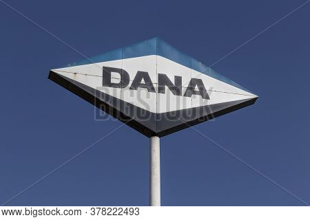 Lima - Circa July 2020: Dana Spicer Driveshaft Manufacturing Plant. Dana Produces Axles And Drive Co