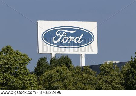 Lima - Circa July 2020: Ford Motor Company Lima Engine Plant. Ford Lima Manufactures Duratec Engines