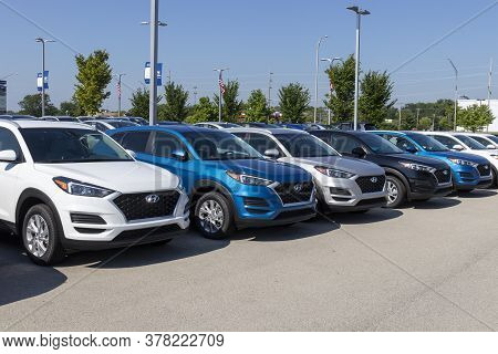 Noblesville - Circa July 2020: Hyundai Motor Company Dealership. Hyundai Is A South Korean Multinati