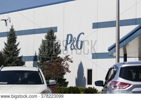 Lima - Circa July 2020: Procter & Gamble Lima Distribution Center. P&g Is The Worlds Biggest Adverti