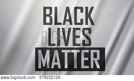 Awareness Campaign Against Racial Discrimination I Cant Breathe Poster Banner Black Lives Matter Con