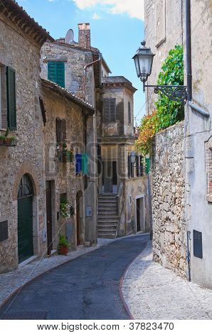 Alleyway. Amelia. Umbria. Italy.