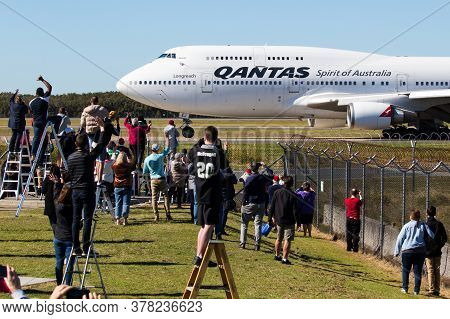 As A Farewell To The Iconic 747, Qantas Ran Three Special Joyflights, One From Sydney, One From Bris