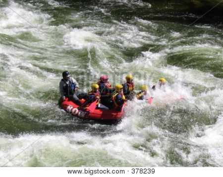 Whitewater Rafting Down The Lochsa River, Idaho