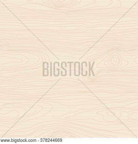 Woodgrain Elements Texture Seamless Pattern Vector Illustration Isolated On Yellow Background. Wood