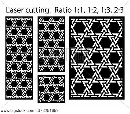 Cnc Decorative Pattern, Jali Design, Interior Element. Islamic , Arabic Laser Cut Kit Bundle. Shade