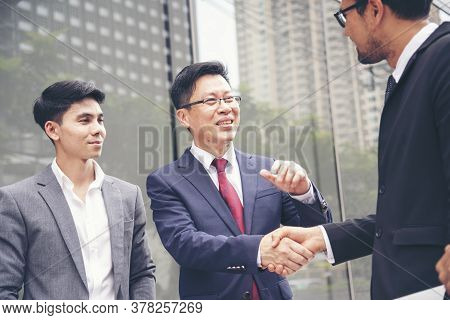 Partner Business Trust Teamwork Partnership. Industry Contractor Fist Bump Dealing Mission Business.