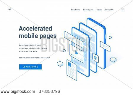 Web Banner Advertising Accelerated Mobile Pages Technology