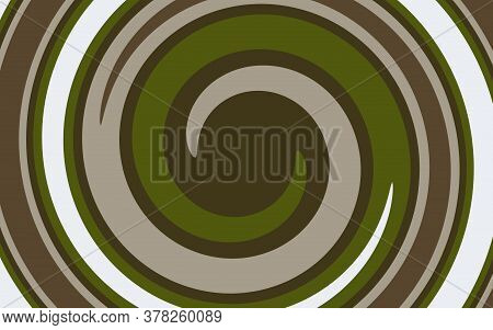 Funnel Abstract Pattern. Swirl, Spiral, Multi-colored Pattern As A Background.