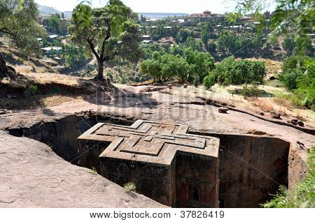 Bet Giyorgis Church in Lalibela