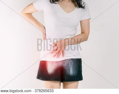 Waist Pain Women And Hip A Inflammation