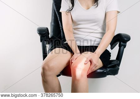 Human Leg Osteoarthritis Inflammation Of Bone Joints