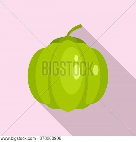 Guava Icon. Flat Illustration Of Guava Vector Icon For Web Design