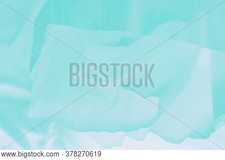 Pale Delicate Soft Aquamarine Turquoise Gradient Abstract Background