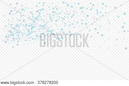 Multicolored Dust Fun Transparent Background. Gradient Carnaval Polka Banner. Carnival Texture. Colo