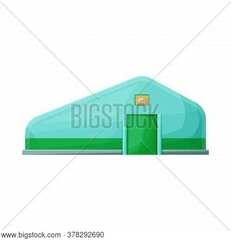 Isolated Object Of Hangar And Granary Symbol. Web Element Of Hangar And Storage Stock Vector Illustr