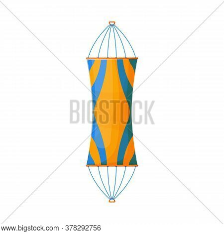 Vector Illustration Of Hammock And Bed Icon. Graphic Of Hammock And Mat Vector Icon For Stock.
