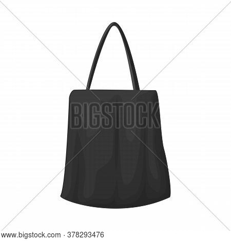 Vector Illustration Of Handbag And Minimarket Logo. Graphic Of Handbag And Sale Vector Icon For Stoc