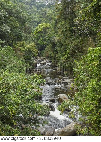 River Scenery Around The Sierra Nevada De Santa Marta In Colombia