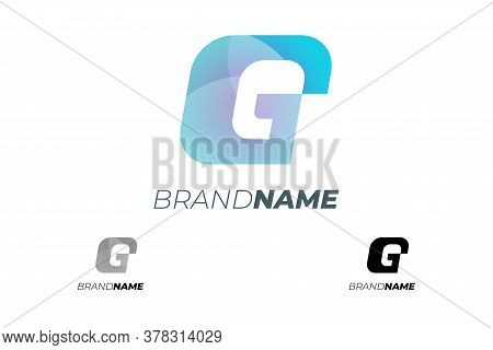 Initial Ge Abstract Dynamic Letter For Progress Technology Business Identity Logotype Concept. G E A