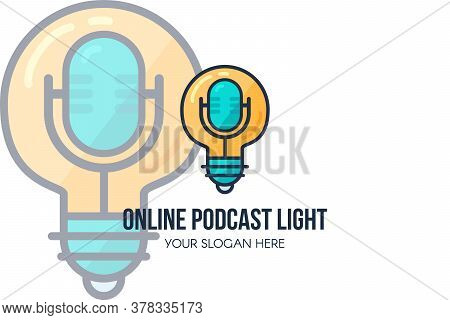 Online Podcast Audio Show Landing Page Template