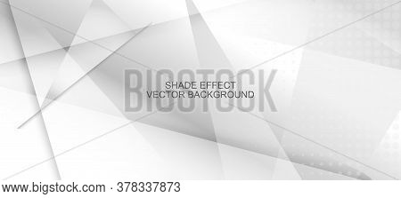Halftone Minimal Gray Vector Background. Geometric Dots Texture. Halftone Wallpaper. Modern Faded Ba